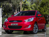 Hyundai Accent SR (RB) 2013 wallpapers