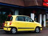 Photos of Hyundai Amica 1999–2001