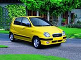 Hyundai Atos Prime 1999–2001 pictures