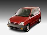 Images of Hyundai Atos 1997–2003