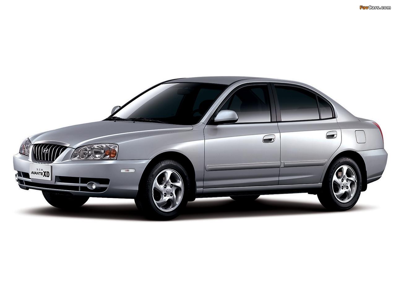 Hyundai Avante Xd 2003 06 Photos 1280x960