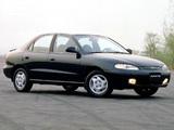 Photos of Hyundai Avante (J2) 1995–98