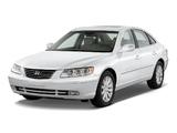 Photos of Hyundai Azera (TG) 2006–10