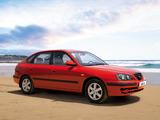 Hyundai Elantra Hatchback (XD) 2003–06 wallpapers