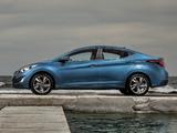 Pictures of Hyundai Elantra AU-spec (MD) 2014