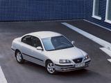 Hyundai Elantra Sedan (XD) 2003–06 wallpapers