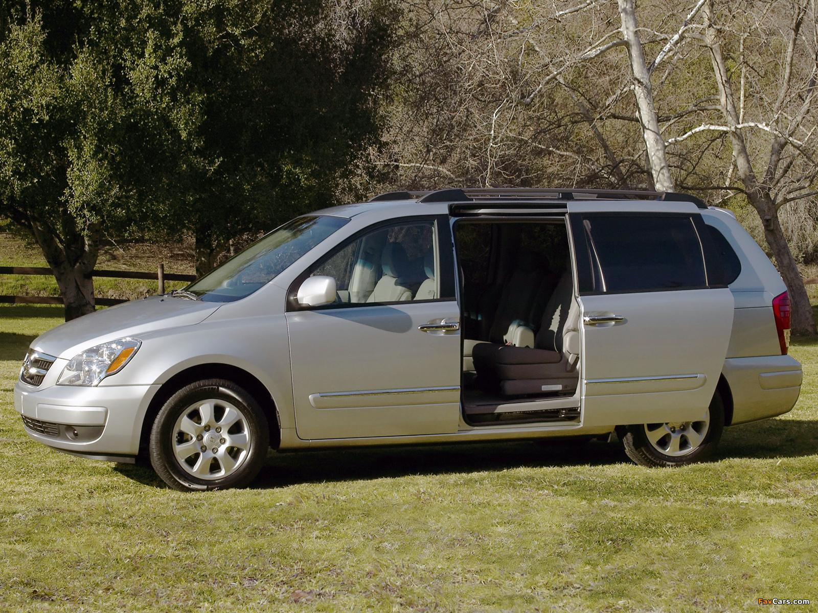 Hyundai Entourage 2006–09 pictures (1600 x 1200)