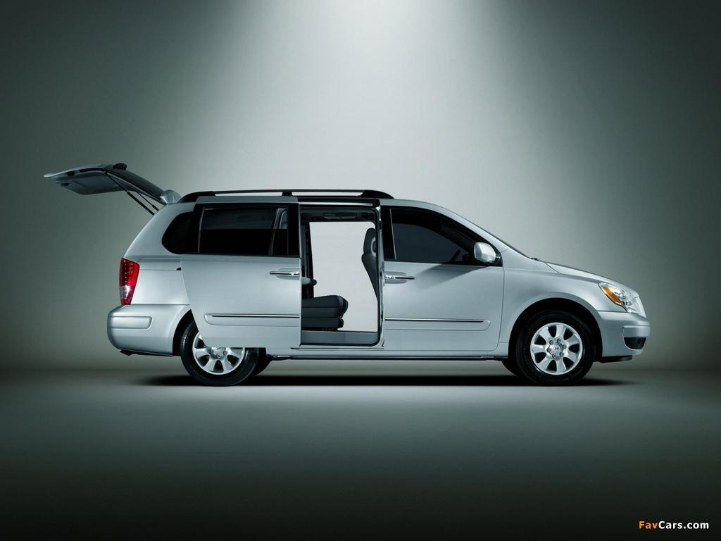 Hyundai Entourage 2006–09 wallpapers (1024 x 768)