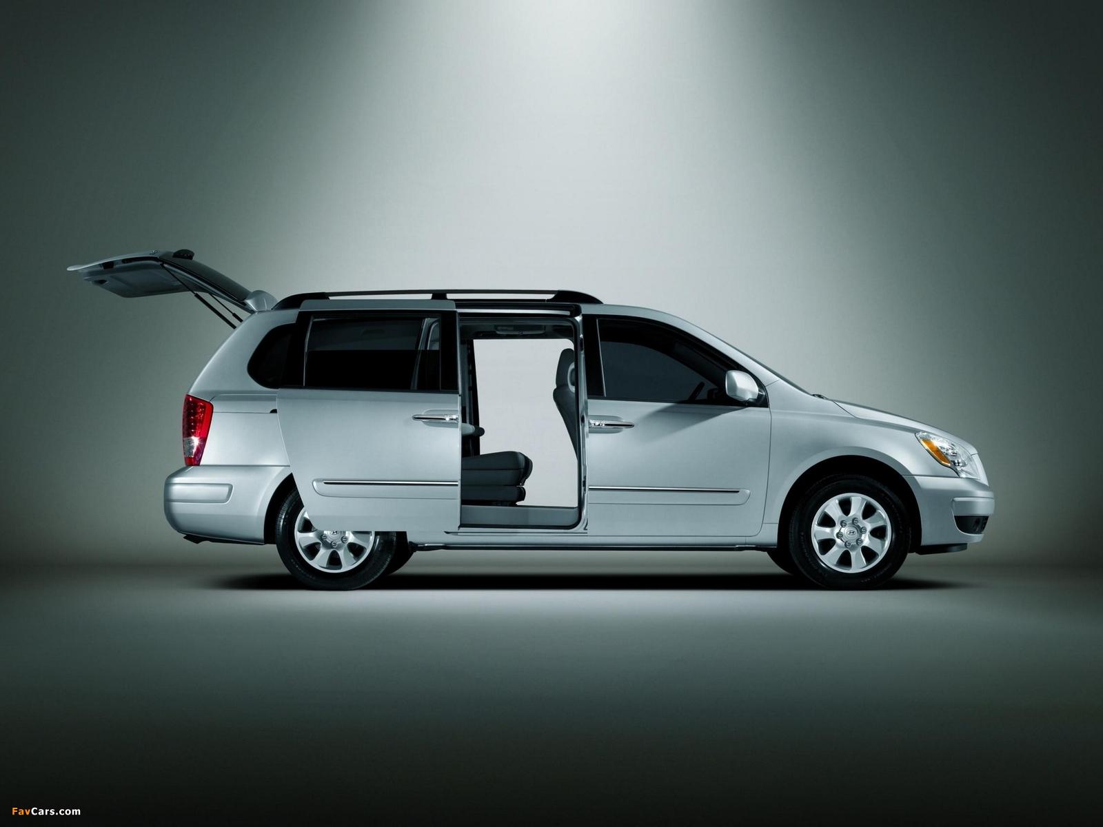 Hyundai Entourage 2006–09 wallpapers (1600 x 1200)