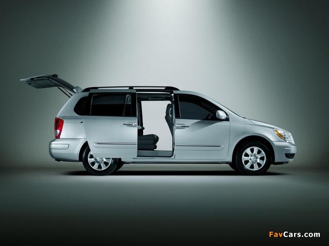 Hyundai Entourage 2006–09 wallpapers (640 x 480)