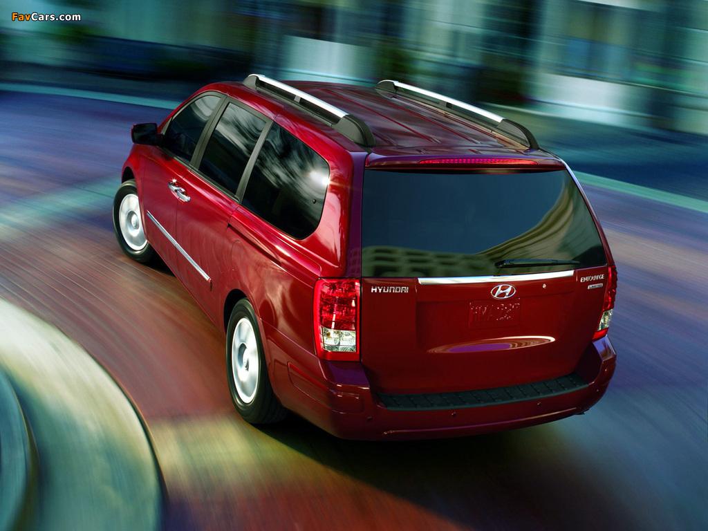 Images of Hyundai Entourage 2006–09 (1024 x 768)