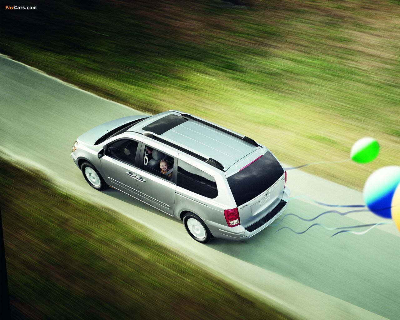 Photos of Hyundai Entourage 2006–09 (1280 x 1024)