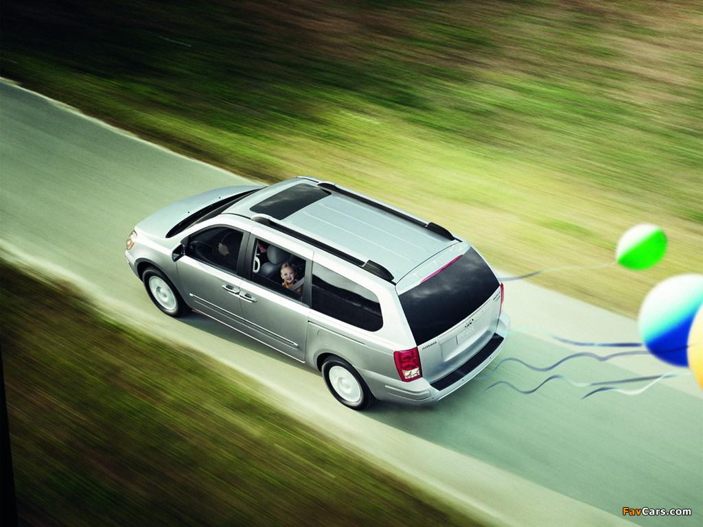 Photos of Hyundai Entourage 2006–09 (1024 x 768)