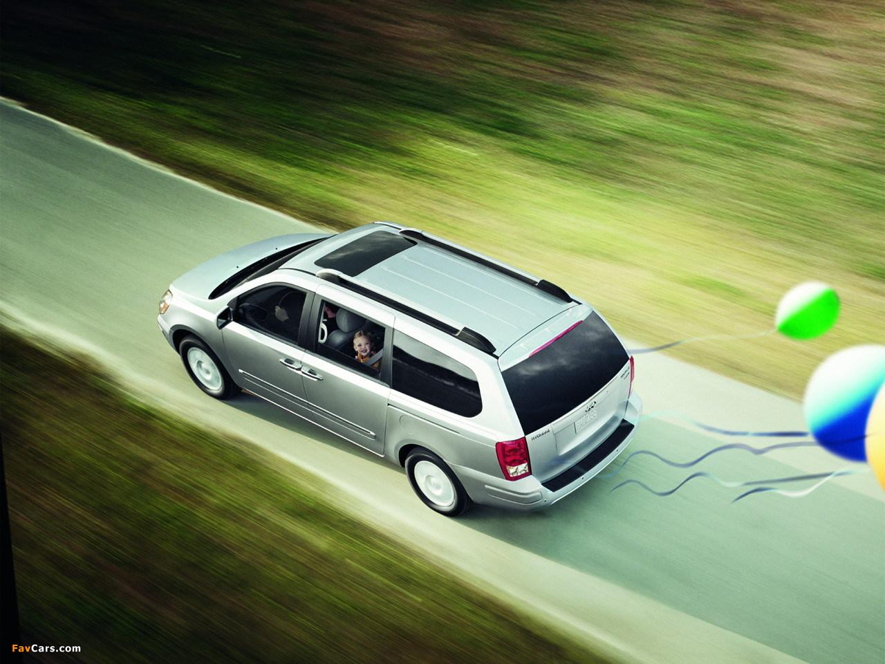 Photos of Hyundai Entourage 2006–09 (1280 x 960)