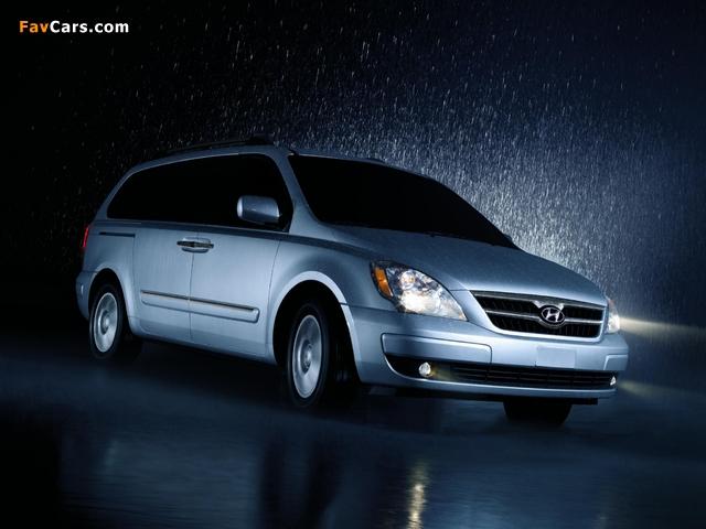 Photos of Hyundai Entourage 2006–09 (640 x 480)