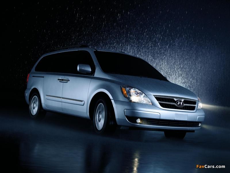 Photos of Hyundai Entourage 2006–09 (800 x 600)