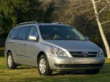 Pictures of Hyundai Entourage 2006–09