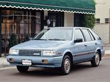 Hyundai Excel 5-door US-spec (X1) 1987–89 photos