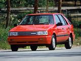 Hyundai Excel 5-door US-spec (X1) 1987–89 wallpapers