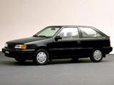 Hyundai Excel 3-door (X2) 1989–92 images