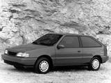 Hyundai Excel 3-door (X2) 1989–92 pictures