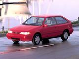 Hyundai Excel 3-door (X2) 1992–95 photos