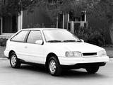 Images of Hyundai Excel 3-door (X2) 1989–92