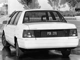 Photos of Hyundai Excel Sedan (X2) 1989–92