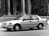 Photos of Hyundai Excel Sedan (X2) 1992–95