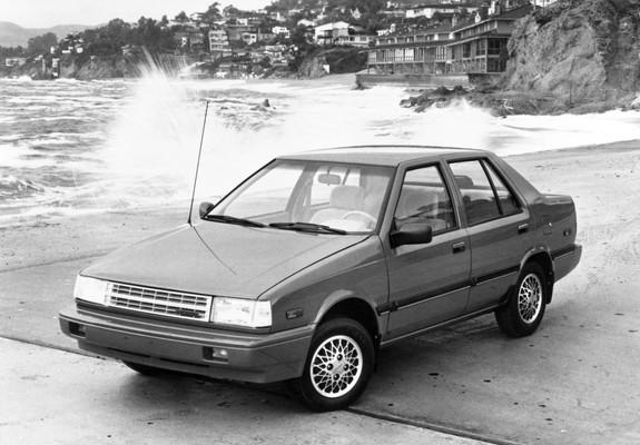 Pictures of Hyundai Excel Sedan (X1) 1985–89