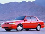 Hyundai Excel Sedan (X2) 1992–95 wallpapers