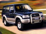 Hyundai Galloper 5-door (II) 1998–2003 pictures