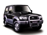 Hyundai Galloper 3-door (II) 1998–2003 wallpapers