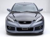 Hyundai Genesis Coupe Hurricane SC 2011 photos