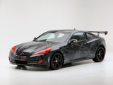 Hyundai Genesis Coupe by Street Concepts 2008 wallpapers