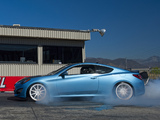 Hyundai Genesis Coupe by Bisimoto Engineering 2013 wallpapers