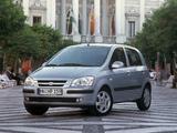 Hyundai Getz 5-door 2002–05 wallpapers