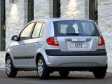 Hyundai Getz 5-door ZA-spec 2006–10 images