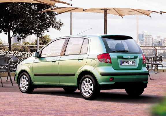 pictures of hyundai getz 5 door 2002 05. Black Bedroom Furniture Sets. Home Design Ideas