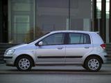 Pictures of Hyundai Getz 5-door 2002–05