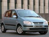 Pictures of Hyundai Getz 5-door ZA-spec 2003–06