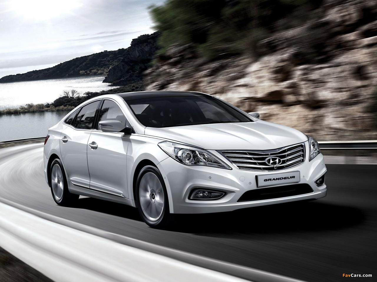 Hyundai Grandeur Hg 2011 Images 1280x960