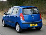 Hyundai i10 UK-spec 2007–10 pictures