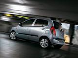 Hyundai i10 2007–10 wallpapers