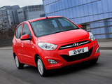 Hyundai i10 UK-spec 2010 wallpapers