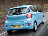 Hyundai i10 UK-spec 2013 photos