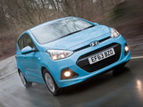 Hyundai i10 UK-spec 2013 wallpapers