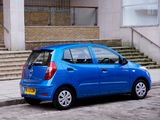 Photos of Hyundai i10 UK-spec 2010