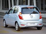 Photos of Hyundai i10 ZA-spec 2011–13