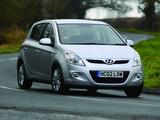 Hyundai i20 5-door UK-spec 2008 wallpapers